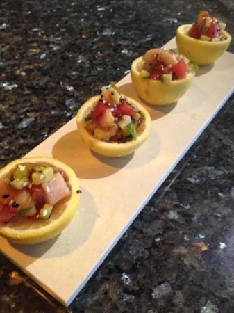 Hilton Garden Inn Fort Worth Alliance Airport: sushi bar!!!!