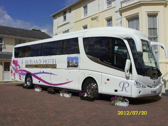 Rutland Hotel: we  are very proud of her
