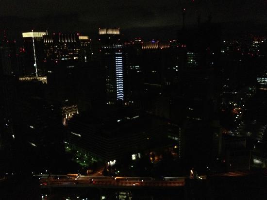 Mandarin Oriental, Tokyo: night view