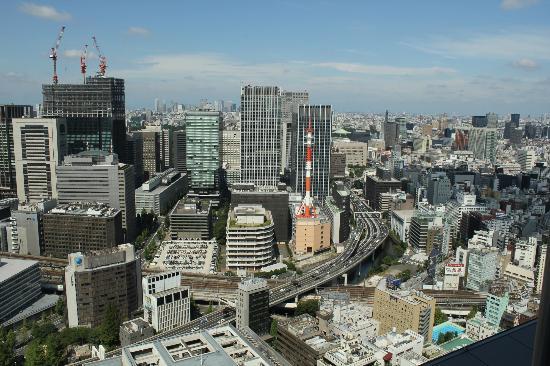 Mandarin Oriental, Tokyo : view
