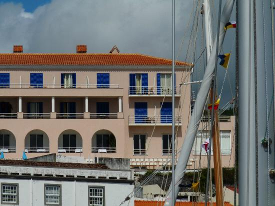 Faial Resort Hotel: our room, top, second from the right