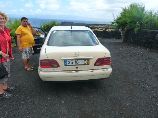 Azoris Faial Garden Resort Hotel: our taxidriver José Leo at Pico