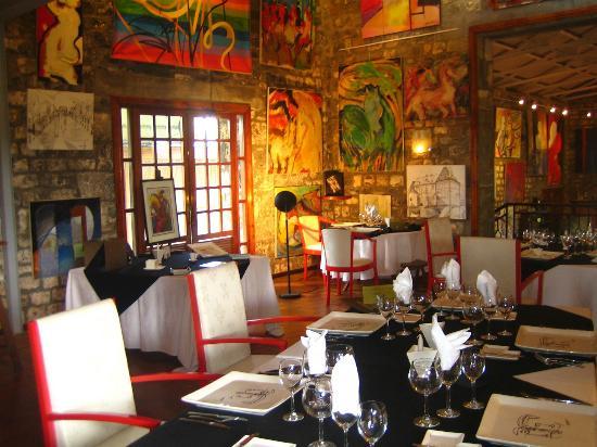 Le Cafe des Arts: salle