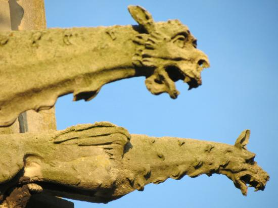 Saint Graal Chambres d hotes de Charme : Gargoyles on church Senlis