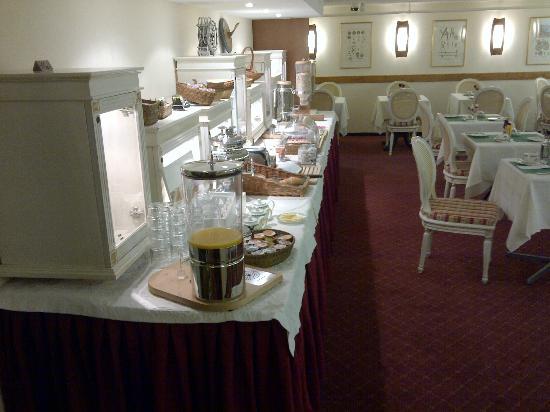 Hotel Des Horlogers: Breakfast room