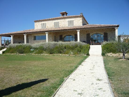 Domaine Perdrix-Lasouche : voorkant van het huis