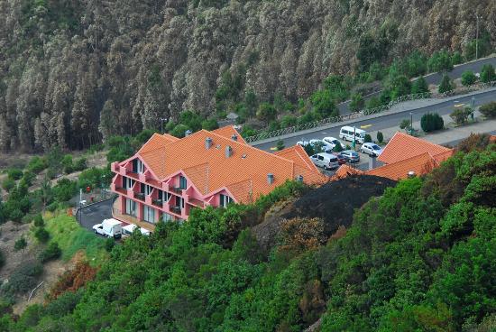 Hotel Encumeada: El sitio es perfecto, en plena montaña