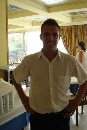 Miramar Hotel Tenerife Island: Ed the barman, lovely guy