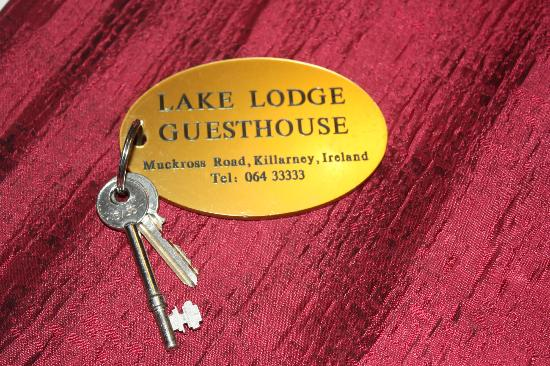Lake Lodge Guesthouse: llaves