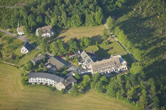 Berghotel Hoher Knochen: Luftbild