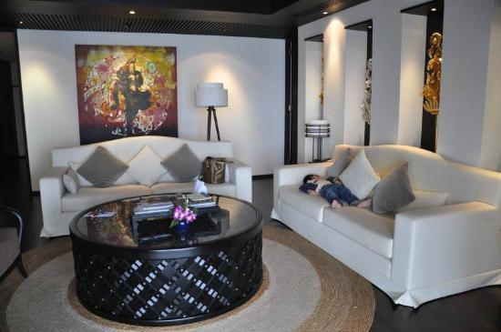 Anantara Bophut Koh Samui Resort: Spacious living area