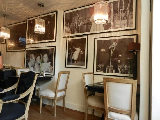 The Concert Hotel: sala colazione
