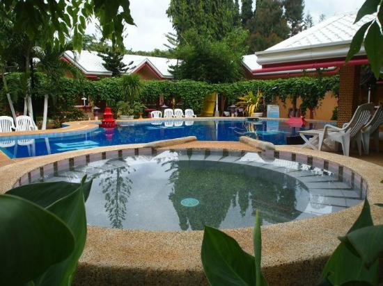 The pool area with swim up bar picture of deep forest - Hotel in puerto princesa with swimming pool ...