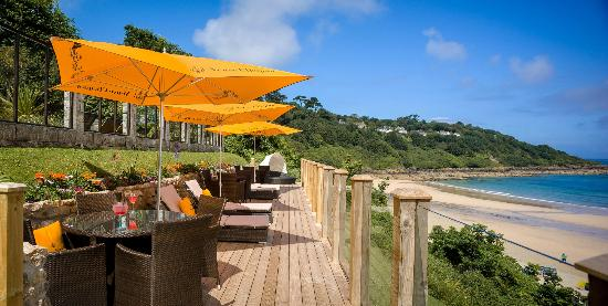 Carbis Bay Hotel & Estate: Our new terrace