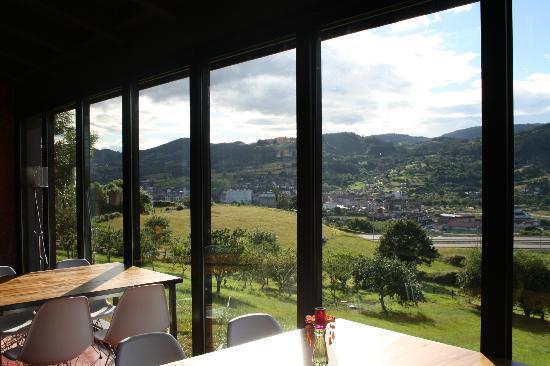 Hotel Restaurante El Lacayo de Sestiello: Vistas desde Restaurante