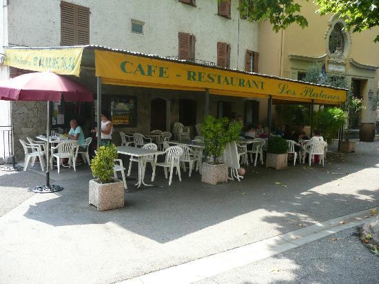 Restaurant Bar des platanes - Villars-sur-Var