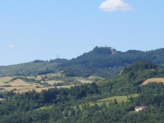 Villa Palagio Vecchio B&B: Montesenario vista - Montesenario view