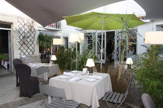 les jardins d'Aliénor : L'intimité du patio