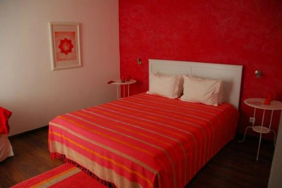 Casa do Platano: Red room