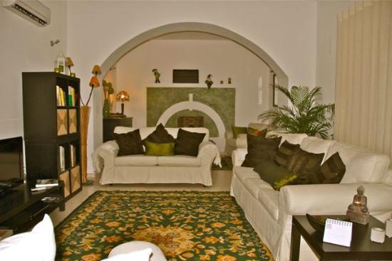 Casa do Platano: Living room