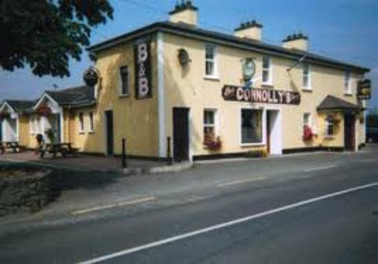 Castleblayney, Ireland: North side view of Connollys.