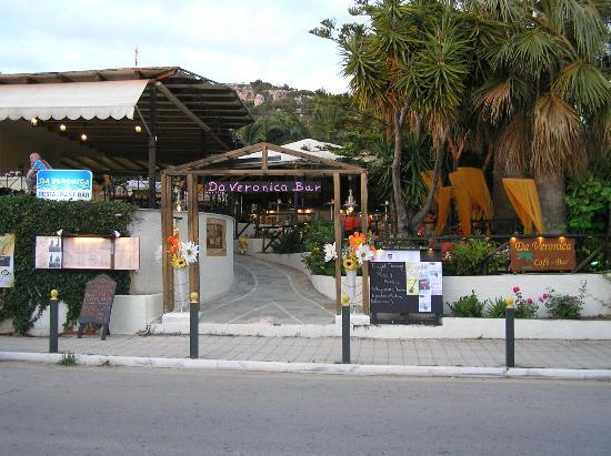 Da Veronica Bar: Entrance