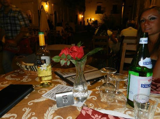 Osteria Largo Oratorio: vino bianco opera prima
