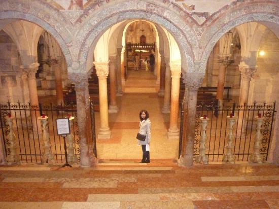 Basilica di San Zeno Maggiore: Cripta de San Zeno