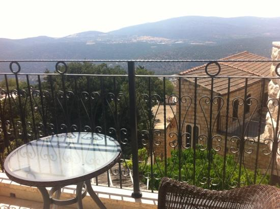 Old City Inn: view from our balcony