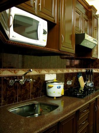 Thamel Apartments/Hotel: Luxurious Apt- Kitchen accessories