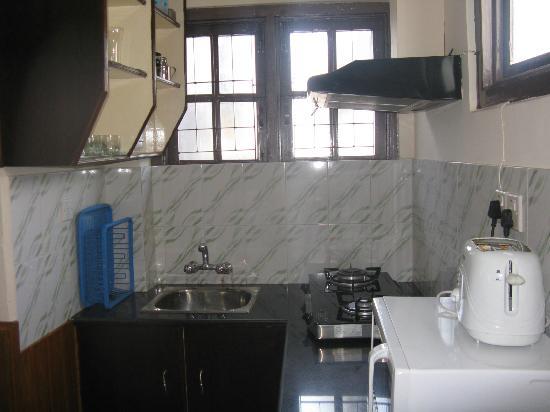 Thamel Apartments/Hotel: Studio Apt- Kicthen