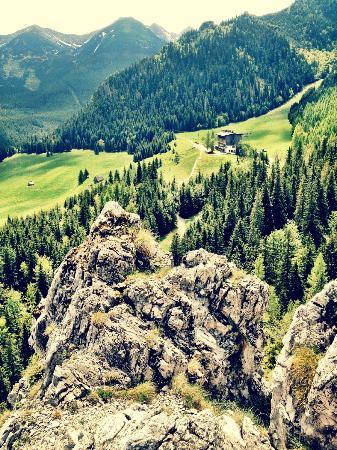 Hotel Gorski Kalatowki: widok ze skałki