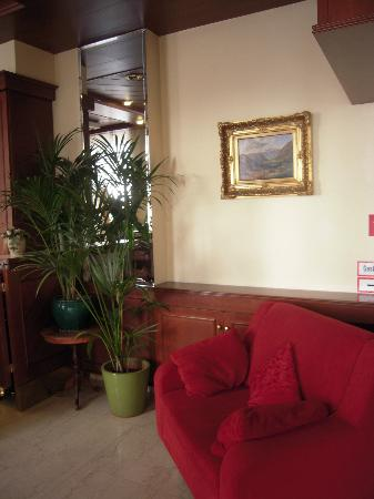 An der Wien: Right part of the reception area