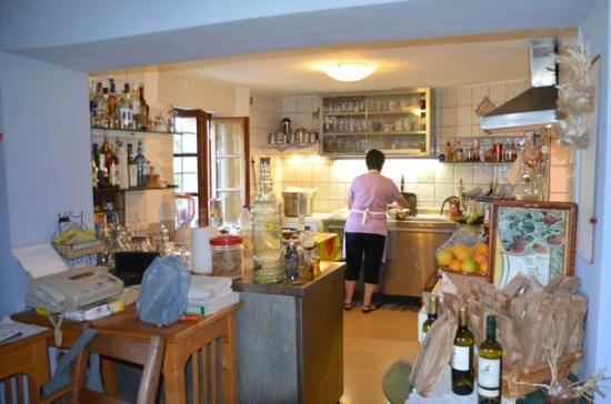Kamares: Préparation du dîner