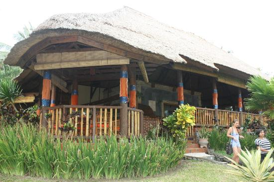 Puri Dajuma Cottages: reception area