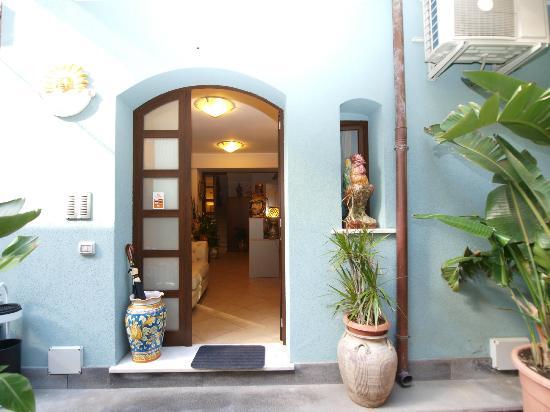 ApartHotel Kalaskisò: ingresso