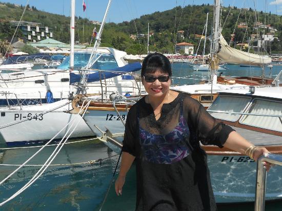 Grand Hotel Portoroz: Portoroz Marina