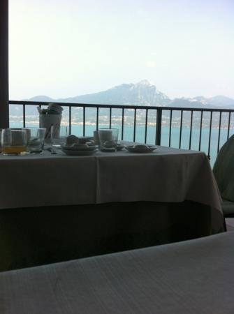 Hotel Panorama Ristorante: colazione in terrazza