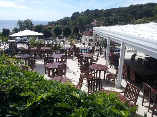St. Brelades Bay Hotel: Poolside Cafe