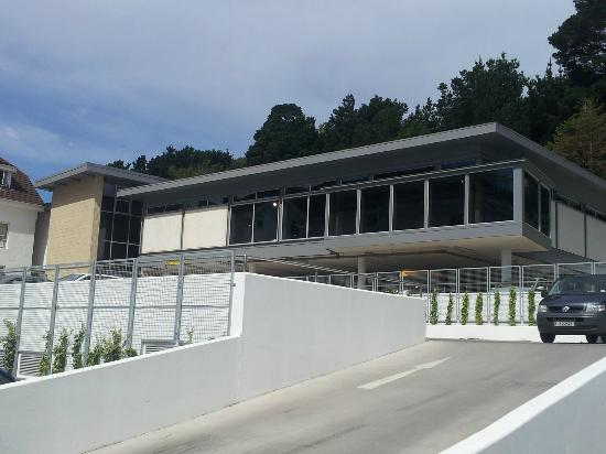 St. Brelades Bay Hotel: View of new gym
