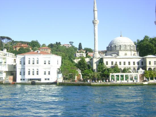 Bosphorus Palace Hotel: Vista desde el Bósforo