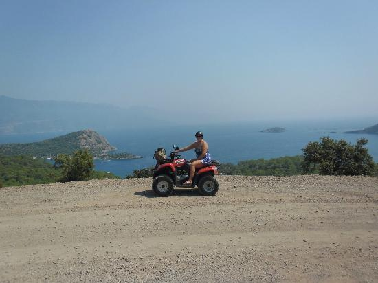 Villa Turk Apartments: Quad bike