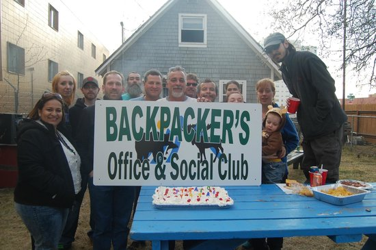 Alaska Backpackers Inn: Grand Opening of the New Backpackers, Inn. Social Club