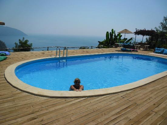 Villa Turk Apartments: Pool at Olive Gardens Kabak