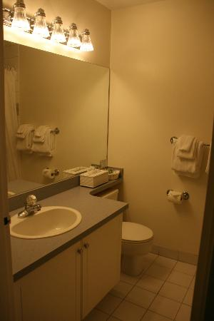 South Thompson Inn & Conference Center: Bathroom