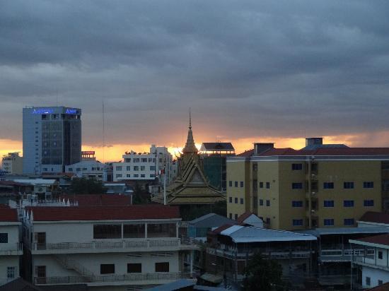 Salita Hotel: Sunset