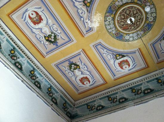 The Fauzi Azar Inn: Original hand-painted ceiling