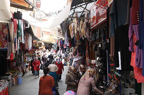 Trabzon, Turkey: De bazaar 1
