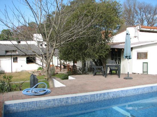 Casa Hernandez: Foto vanaf het zwembad