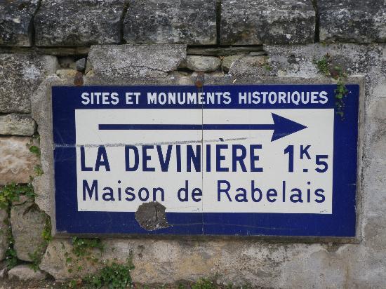 Manoir de l'Abbaye: La deviniere, maison de Rabelais